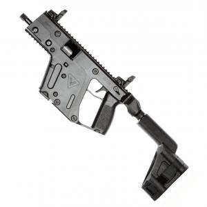 Vector Airsoft Gun Custom: Kriss Vector Gen Ii Pistol W Brace Black