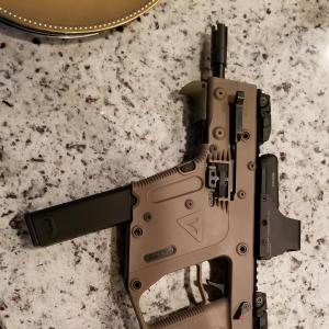 10Mm Kriss Vector Pistol Brace: Kriss Vector Gen Pistol Build Work In Progress