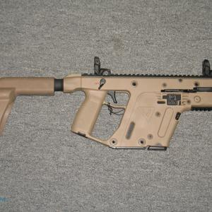 Kriss Vector Light Kit: Kriss Vector Sdp G Mm Pistol With Arm Brace Fde