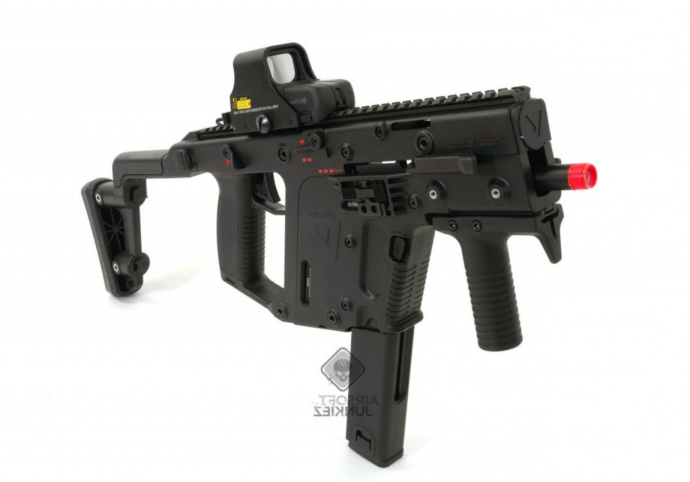 Kriss Vector Rear Grip: Kwa Kriss Vector Gas Blowback Smg