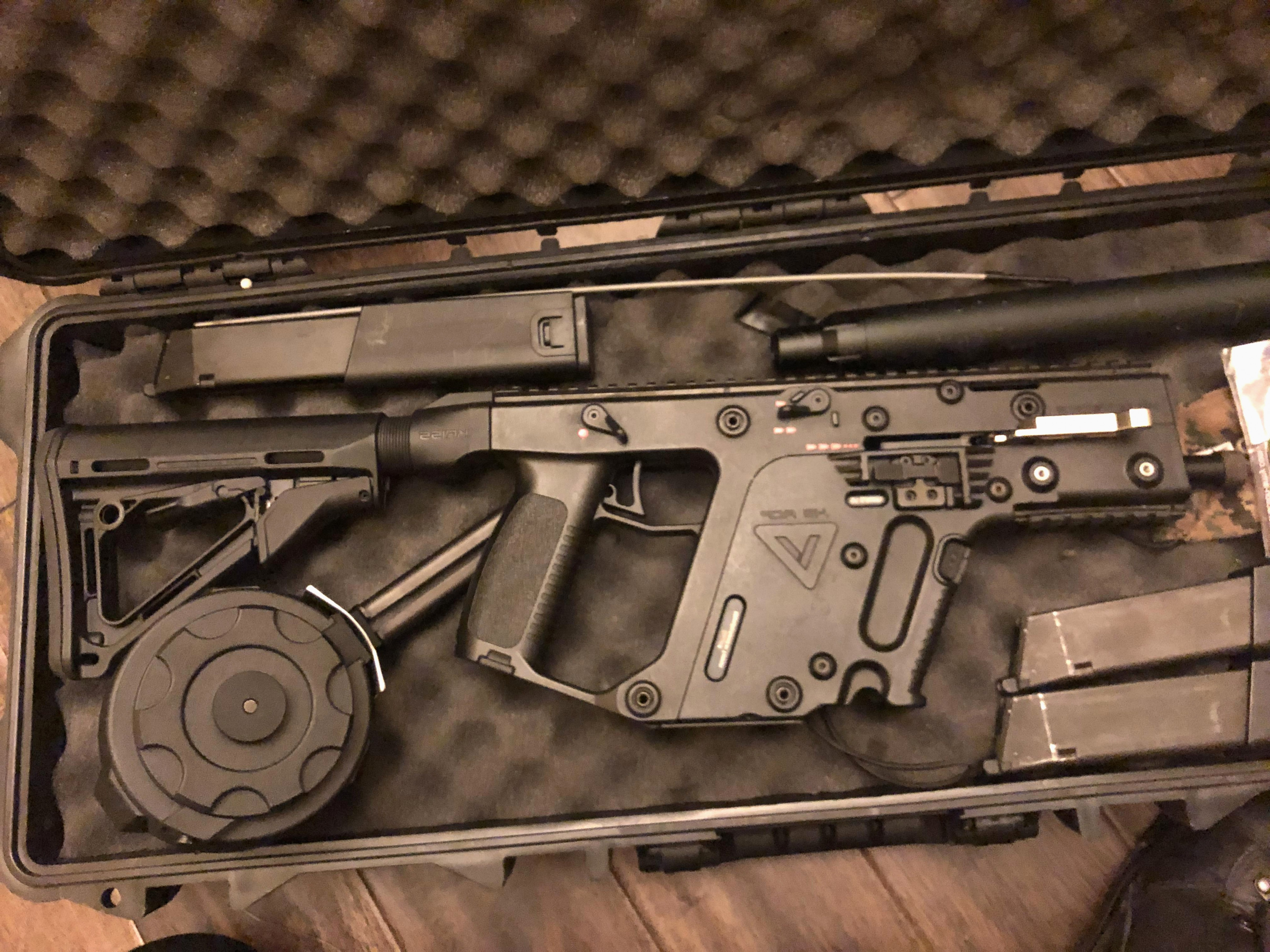 KWA KRISS Vector Parts: Kwa Kriss Vector Luxury A Moment Of Silence For This Kwa Kriss Vector Airsoft