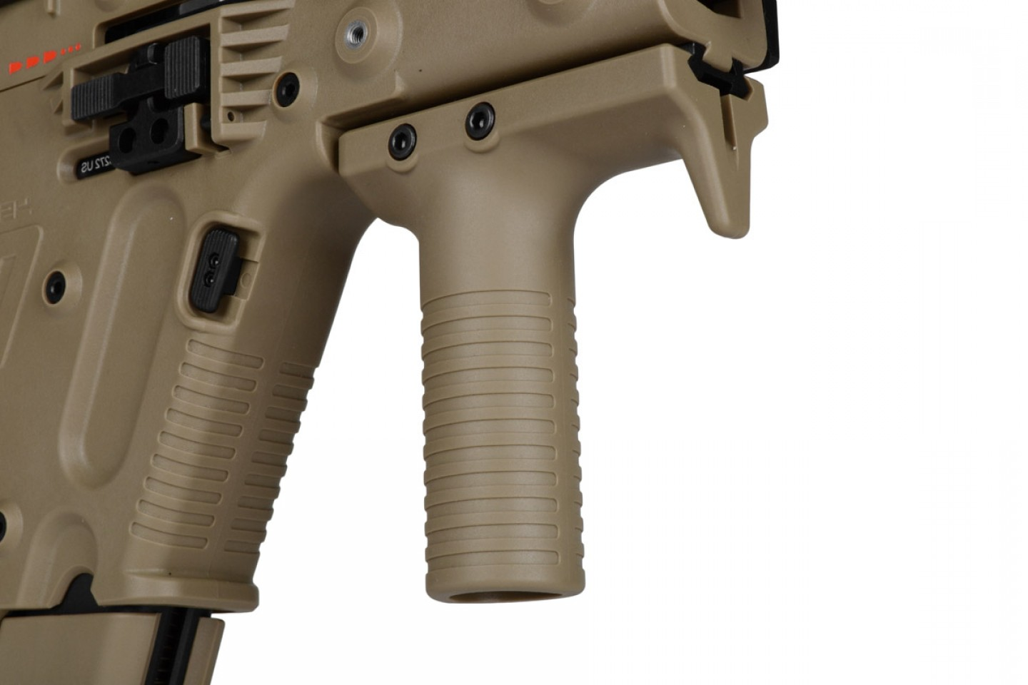 Kriss Vector Rear Grip: Kwa Kriss Vector Smg Gas Blowback Airsoft Gun Ns Tan Kwa