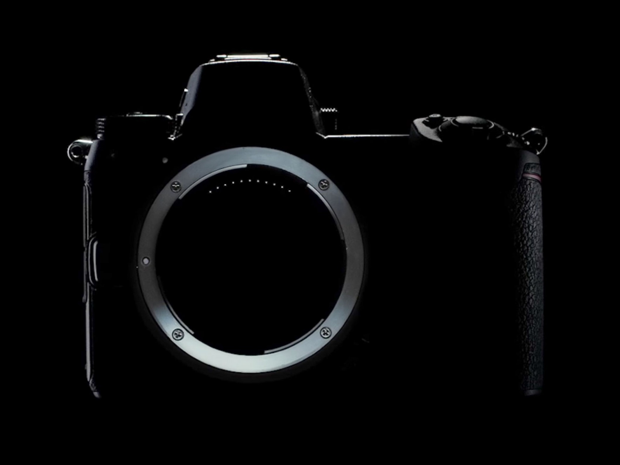 Hires Camera Lens Vector: Latest Nikon Mirrorless Teaser Gives A Closer Look At Body And Lens Mount