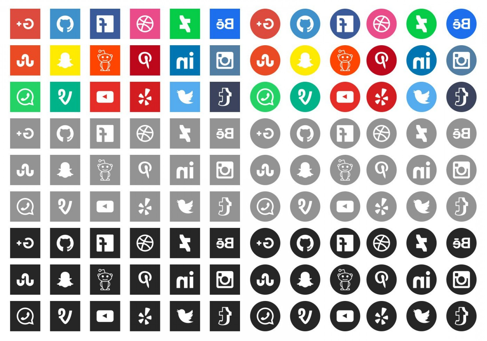 Pencil Icon Vectors Social Media: Latest Social Media Icons For Web Design