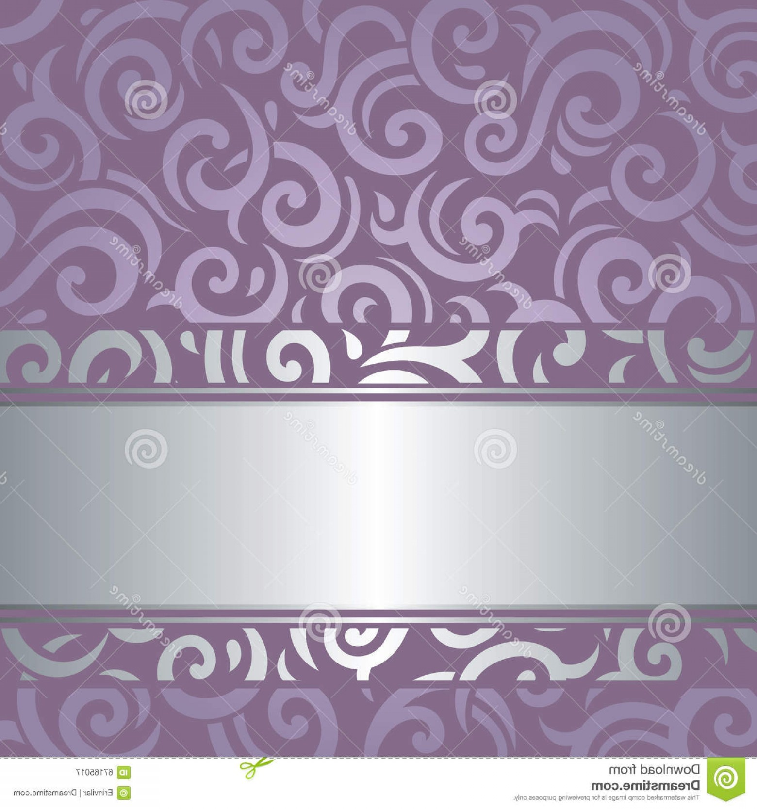 Lilac Wedding Vectors: Lavender Violet Vector Background Wedding Luxury Vintage Design Illustration
