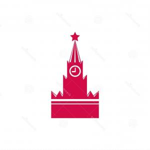 Vector Russian Palace: Admiralty Saint Petersburg Vector Landmark Building