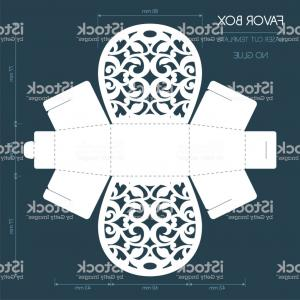 Laser Vector Art: Laser Cut Floral Ornament Vector Clipart