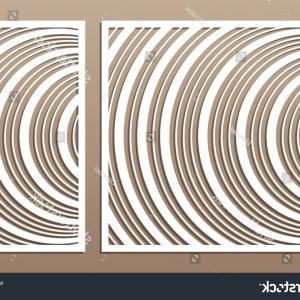 1-1 Vector: Laser Cut Panel Set Decorative Card