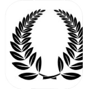 Floral Laurel Wreath Vector: Laurel Wreath Icon Simple Illustration Of Laurel Wreath Vector Icon For Web