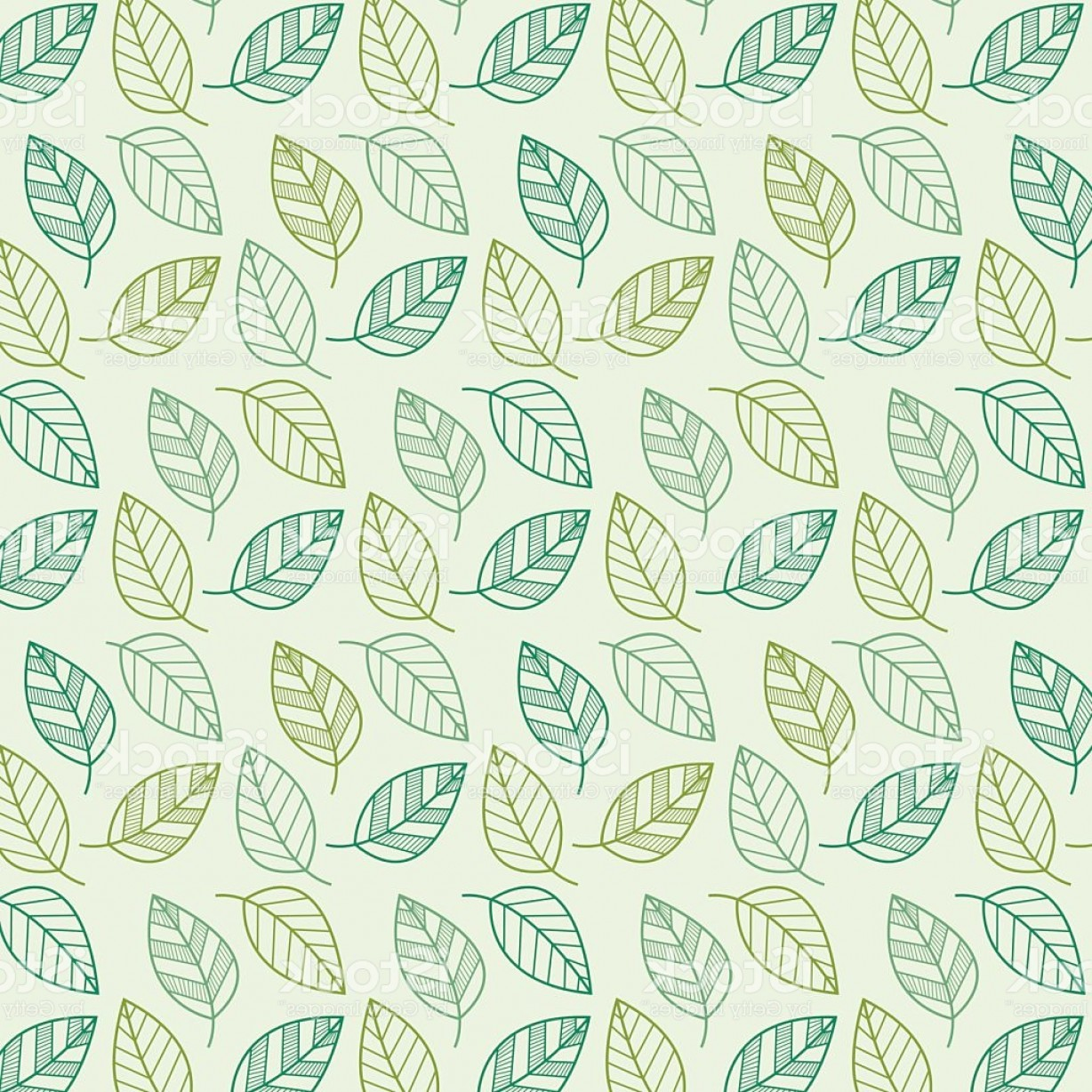 Leaf Background Vector: Leaf Vector Pattern Background Gm