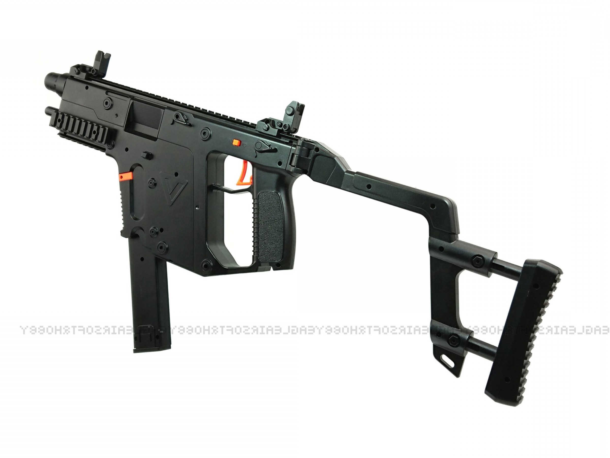Kriss Vector Specs: Lehui Toys Kriss Vector Electric Automatic Mm Gel Ball Blaster Toy Gunupper Fedsmgbklh