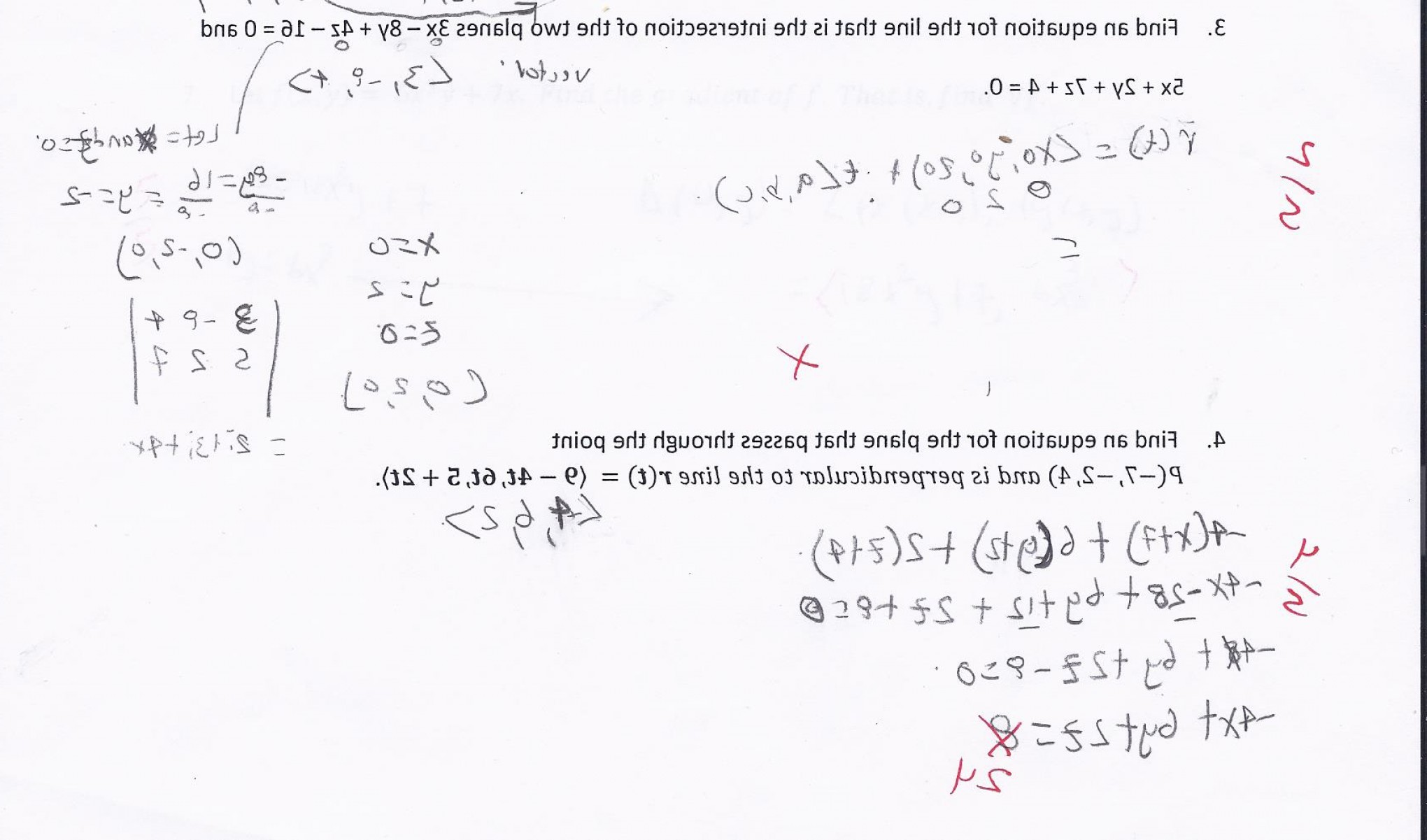 Point Of A Unit Normal Vector A Vector Intersects: Let Note Unit Vector Let Z F X Y Xy Cos X Y Find Directional Derivative F Direction U Po Q