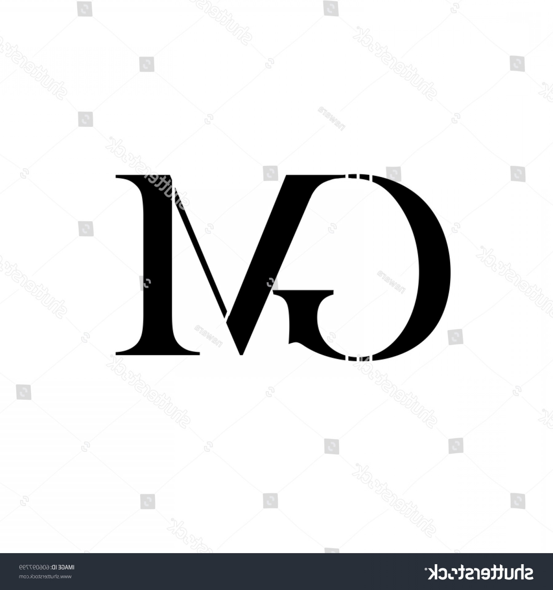ABC News Logo Vector: Letter Gm Black Color Logo Vector
