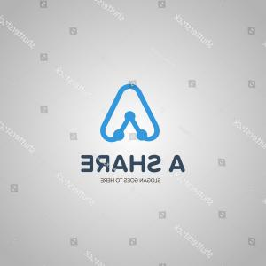 Share Logo Vector: Creative Share Logo People Icon Social