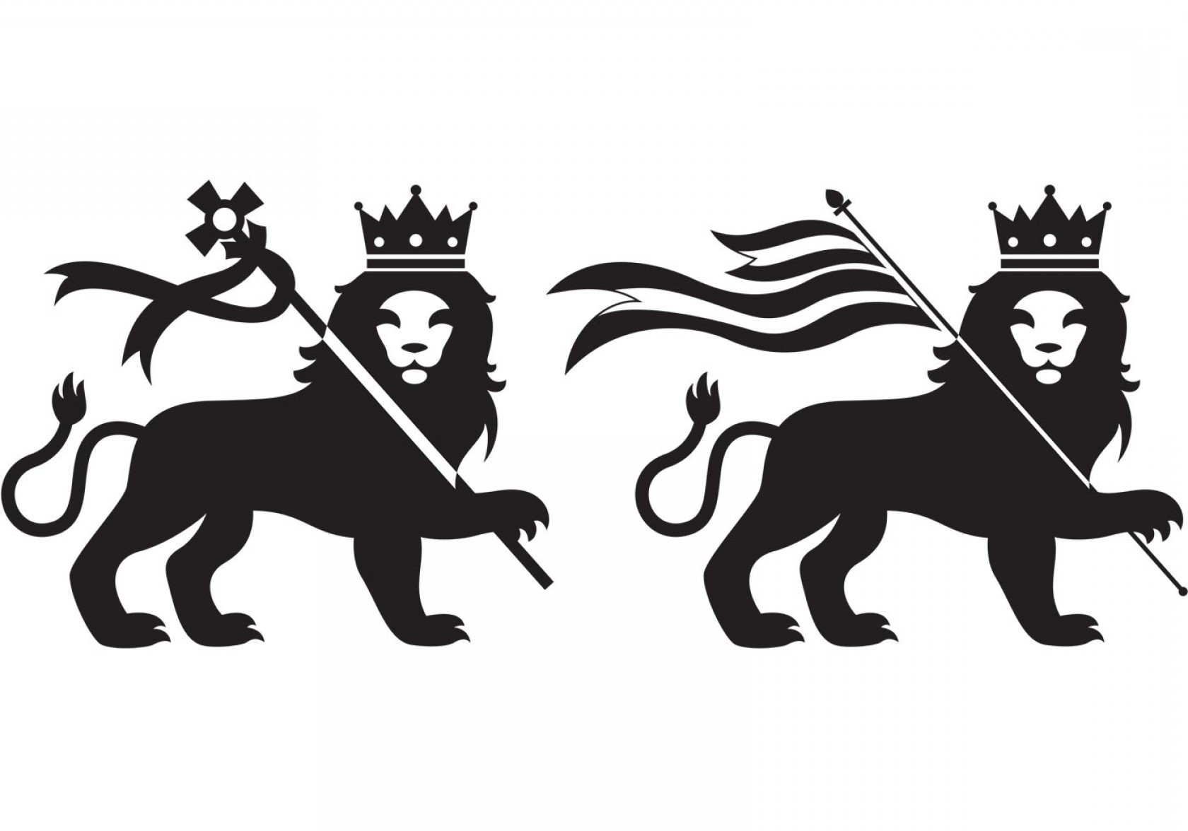 Faith Lions Vector Art Images: Lion Of Judah Vector Emblem Of Jerusalem