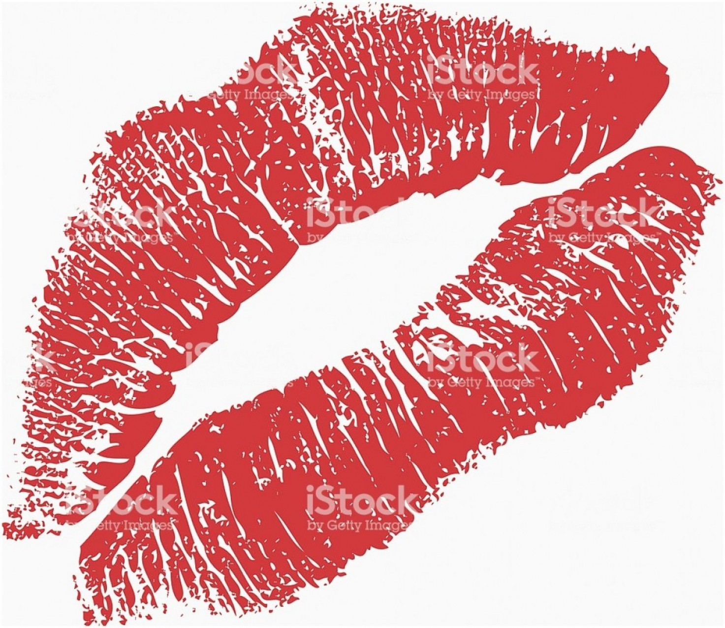 Pink Lips Vector Clip Art: Lipstick Kiss Clipart Unique Pink Lipstick Kiss On White Background Lips Royalty Free