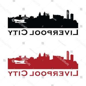 UK Skyline Vector: Birmingham Skyline Silhouette City Vector Design