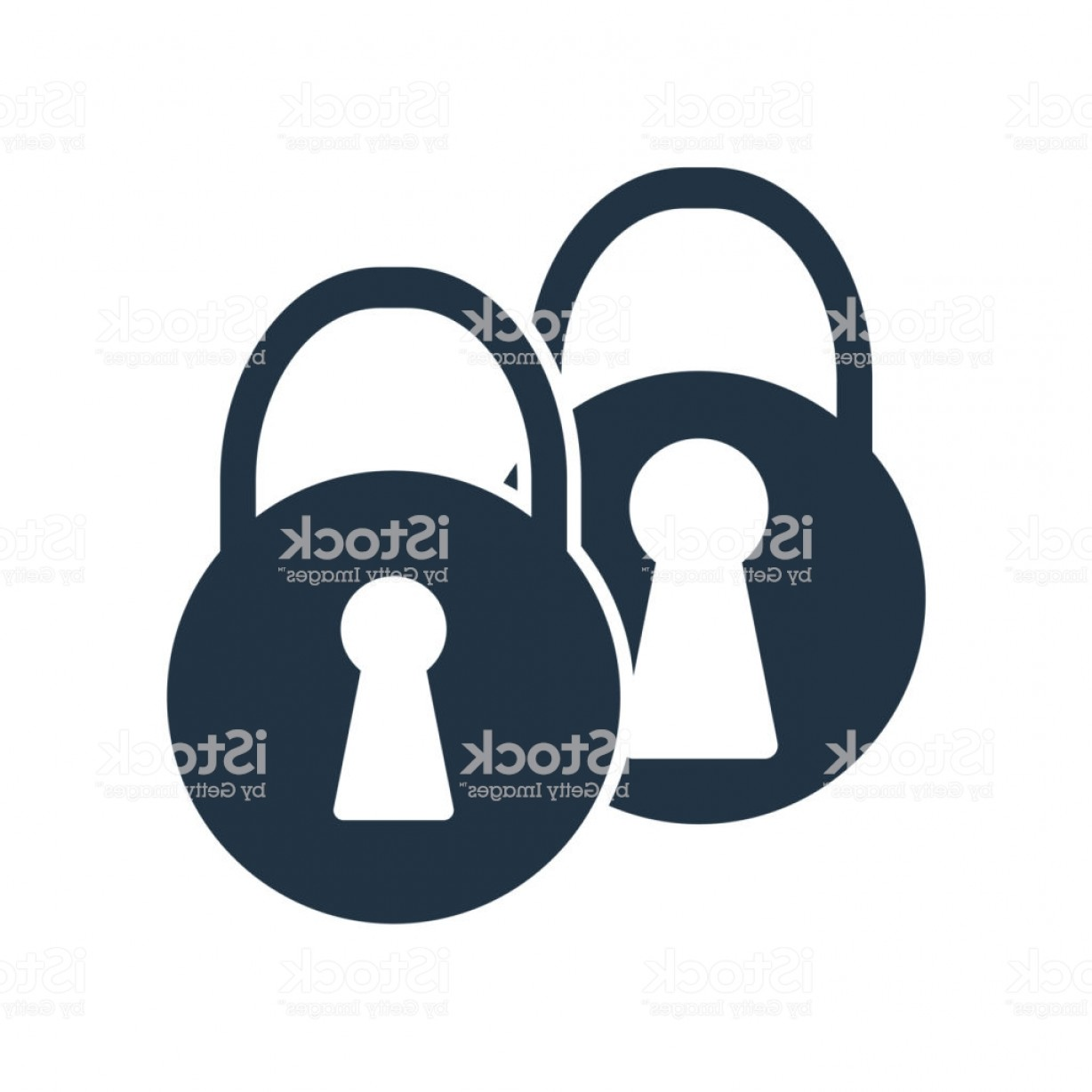 Vector Lock White: Lock Icon Vector Isolated On White Background Lock Sign Gm
