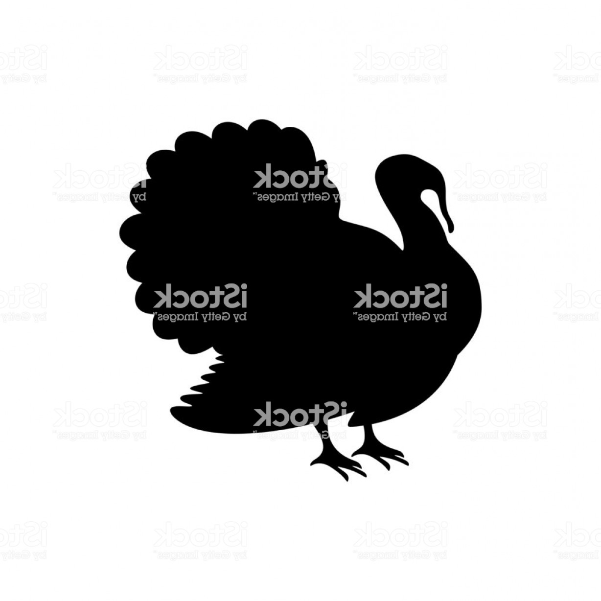 Turkey Logo Vector Art: Logo And Symbol Of A Turkey For Thanksgiving Gm