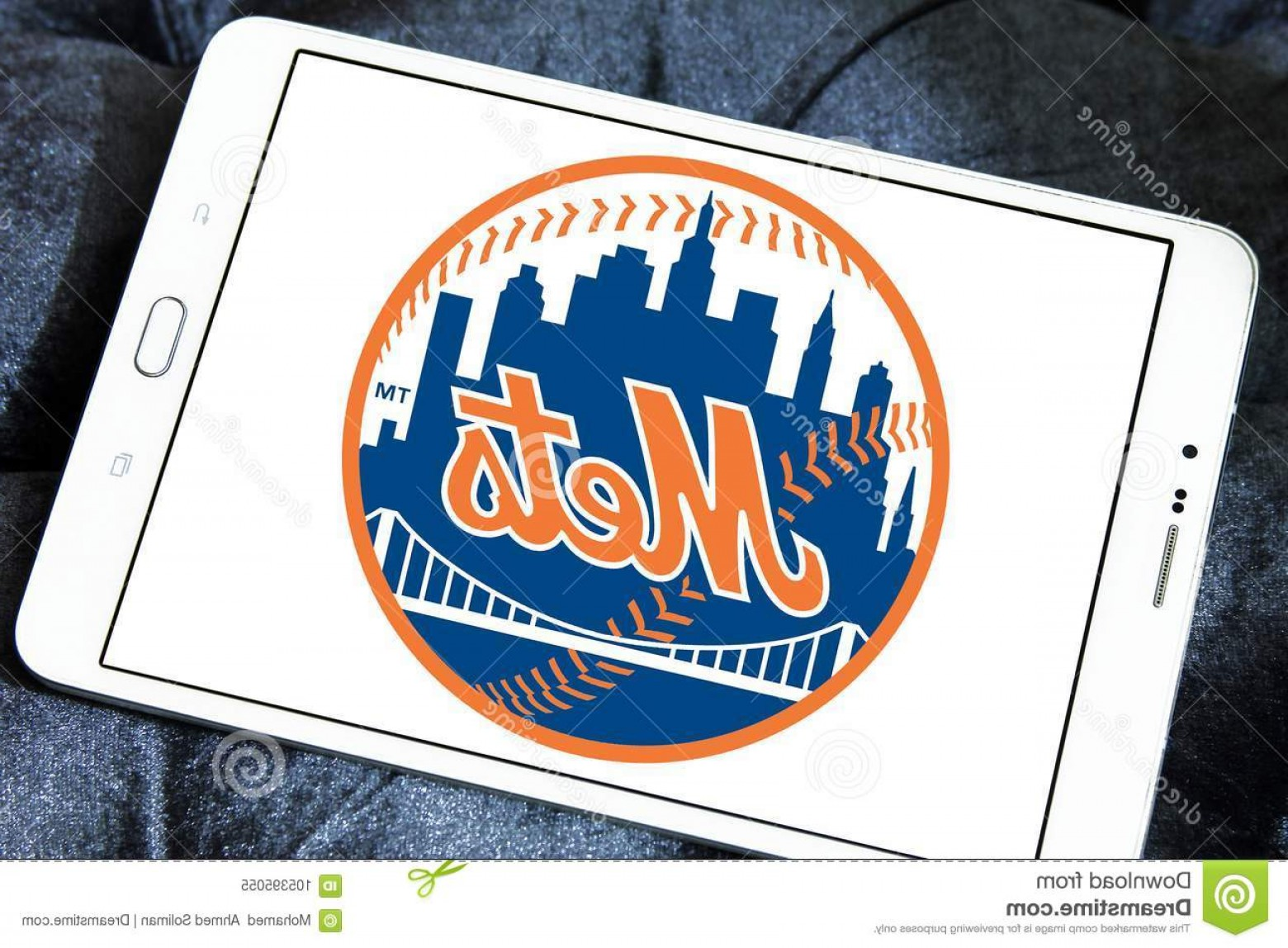 Mets Logo Vector: Logo New York Mets Baseball Team Samsung Tablet New York Mets American Professional Baseball Team Mlb Based Image