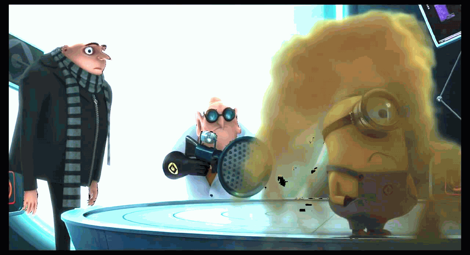 Vector Despicable Me Screams The Moon: Looney Tunes Despicable Me Chapter Grus Lab