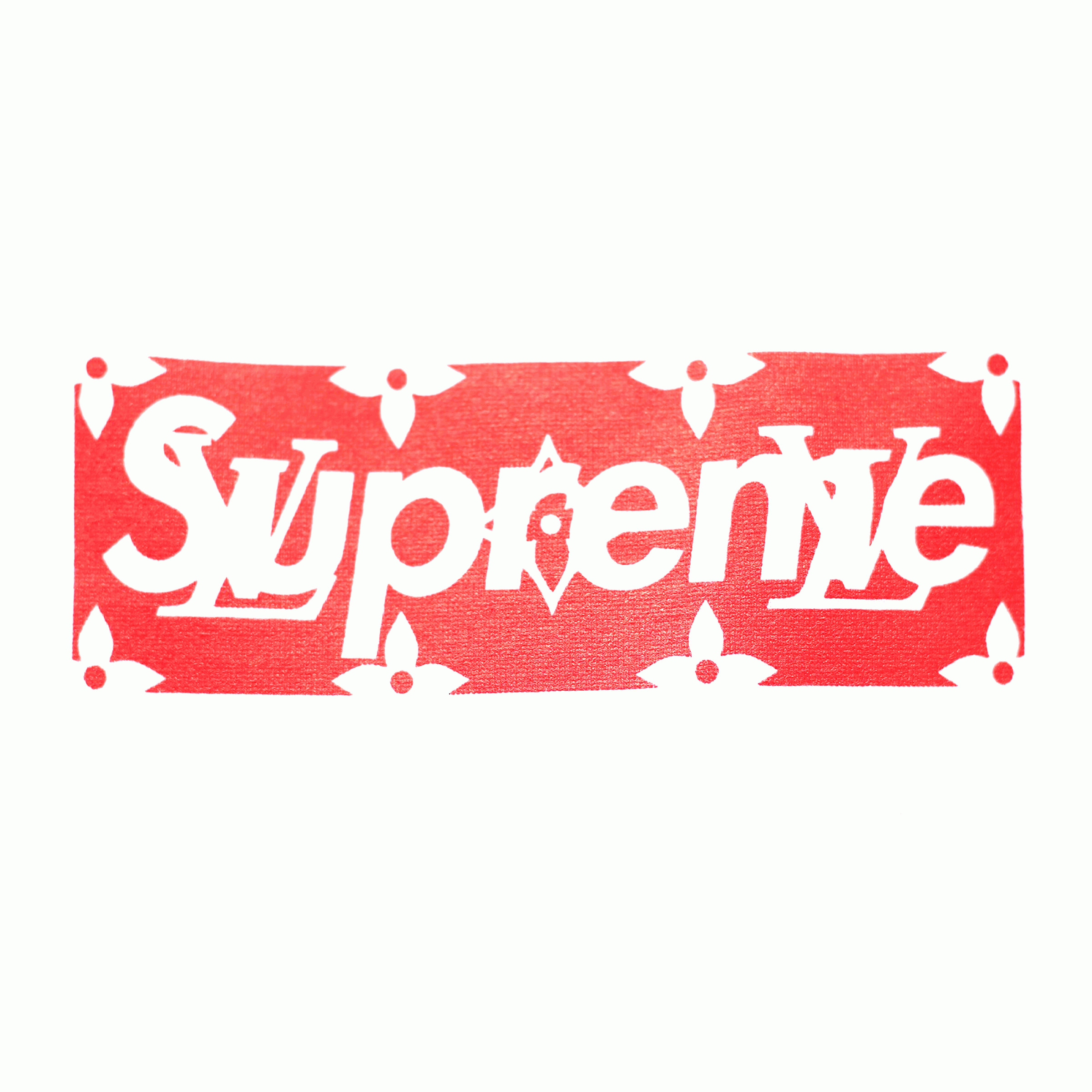 Supreme Vector T-shirt: Louis Vuitton Supreme T Shirt White