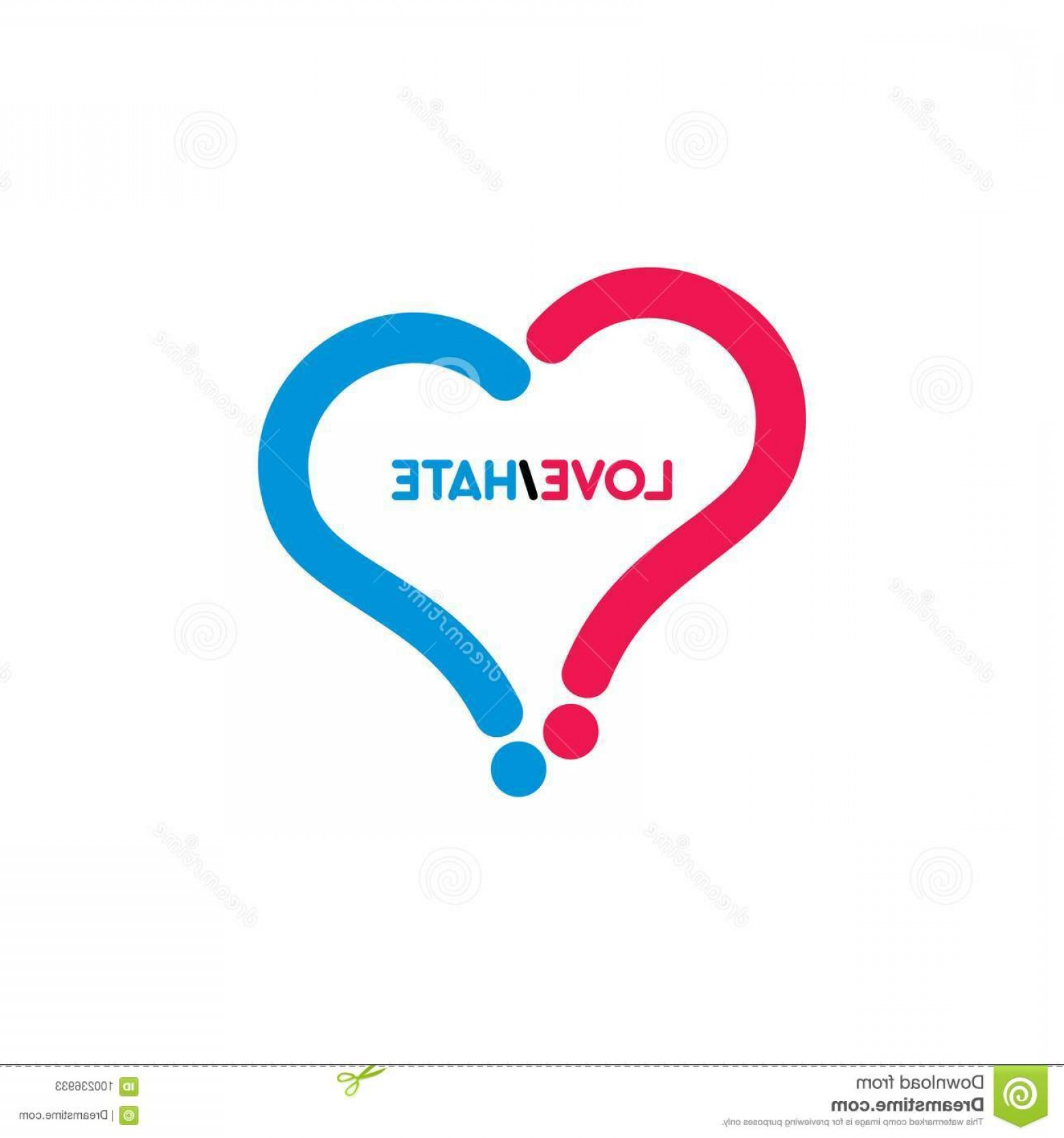 I Love You Mark Vector: Love Heart Symbol Question Mark Mean Do You Love Our Product Not Image