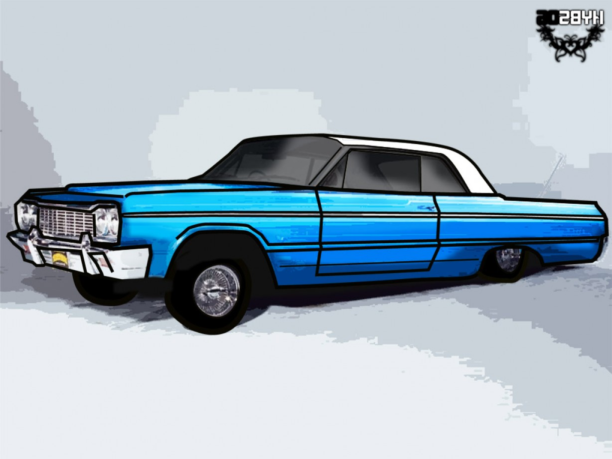 Lowrider Vector: Low Rider Photo With Vector
