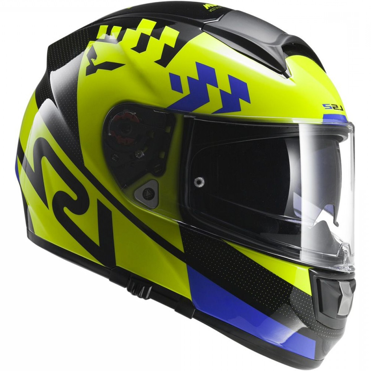 Fighter Helmet Vectors: Ls Ff Vector Podium Hi Vis Yellow Black Fog Fighter Pinlock M Product