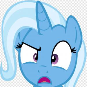 Trixie Hat Vector: Lyfdykpinsane Trixie Lulamoon Meme Hd Png Download