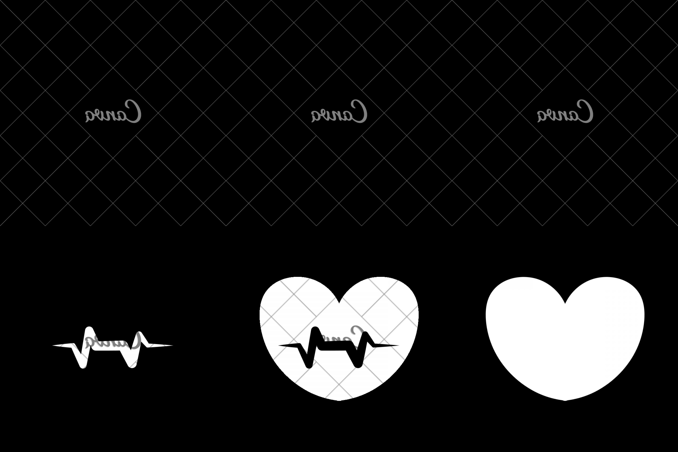 TSS Vector: Mabxxbetss Heart Shape And Pulse Icon Medical Care Design Vector Graphic