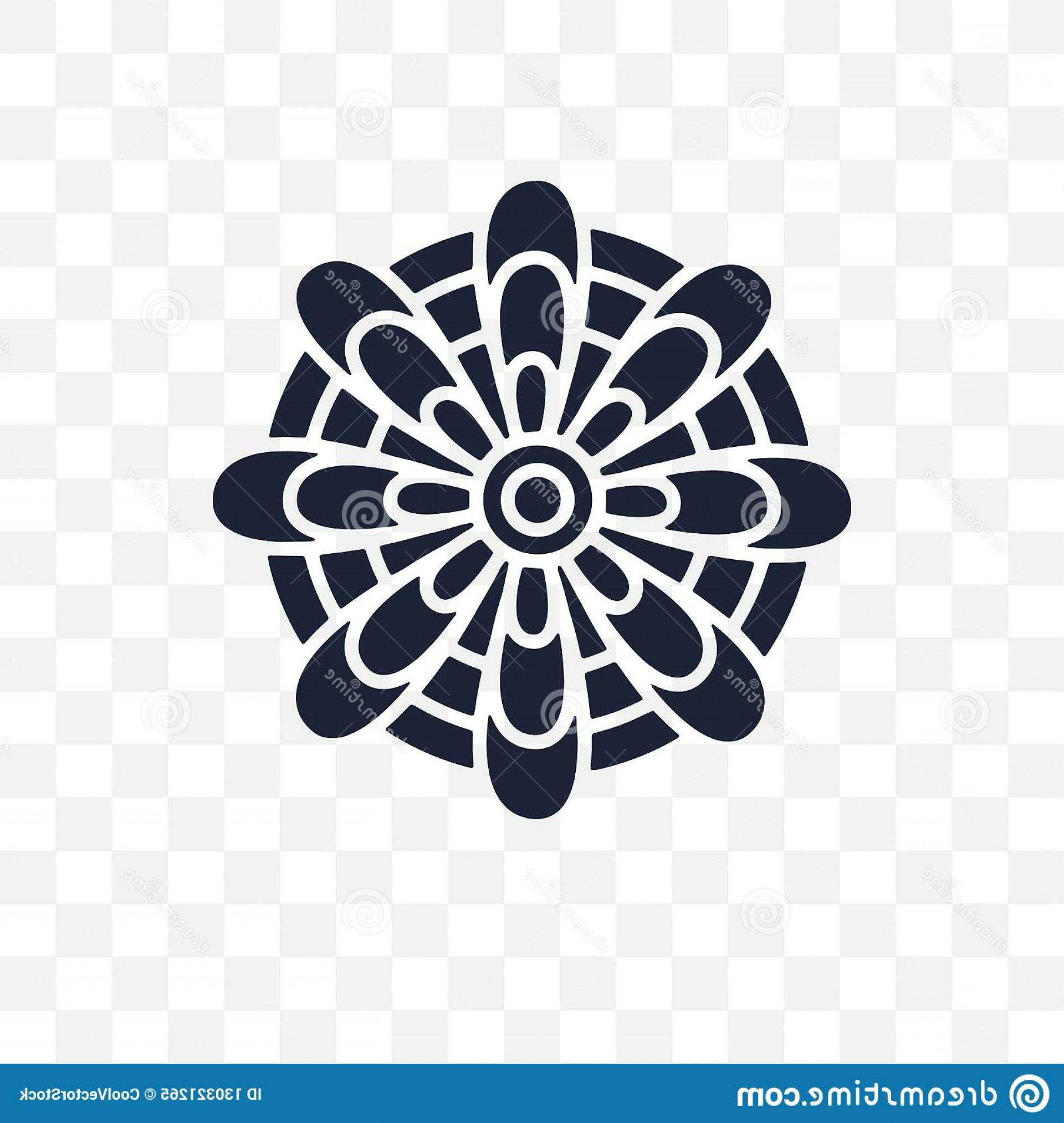 Mandala Vector Simple Compass: Mandala Transparent Icon Symbol Design India Colle Collection Simple Element Vector Illustration Background Image