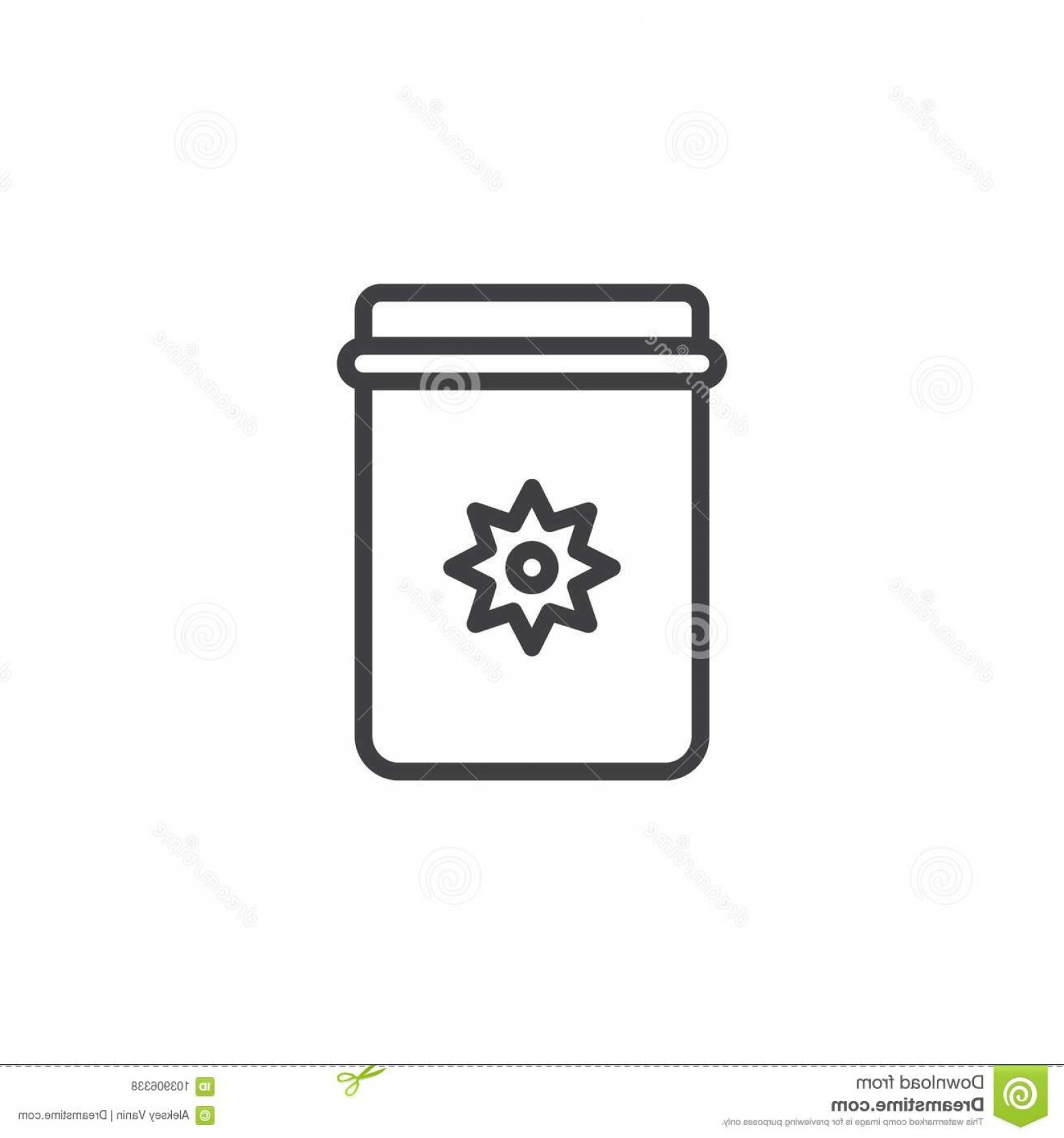 Mason Jar Outline Vector: Mason Jar Christmas Decoration Star Line Icon Mason Jar Christmas Decoration Star Line Icon Outline Vector Sign Linear Image