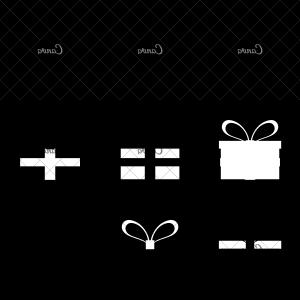 Cross And Ribbon Vector: Ancient Cross With Ribbon Around Vector