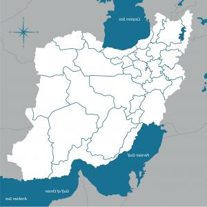 Iran Map Vector: Mapping Iran S Human Rights Interactive Center For And Map Or
