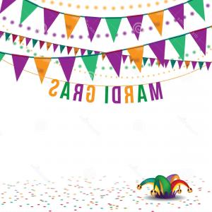 Free EPS Vector Art: Mardi Gras Bunting Background Eps Vector Royalty Free Stock Illustration Greeting Card Ad Promotion Poster Flier Blog Article Image
