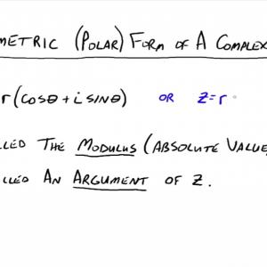 Polar Form Of A Vector: Ac Circuit Complex Impedance Part Putting Together