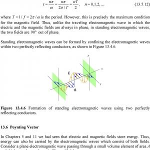 Magnetic Field Poynting Vector: Maxwell S Equations And Electromagnetic Waves