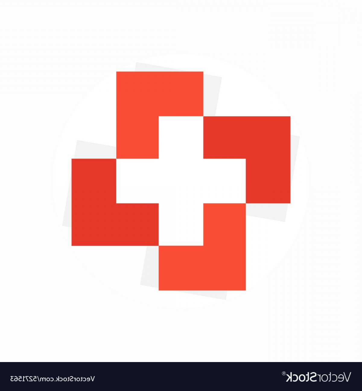 Cross Vector Logos: Medical Cross Logo Or Icon Vector