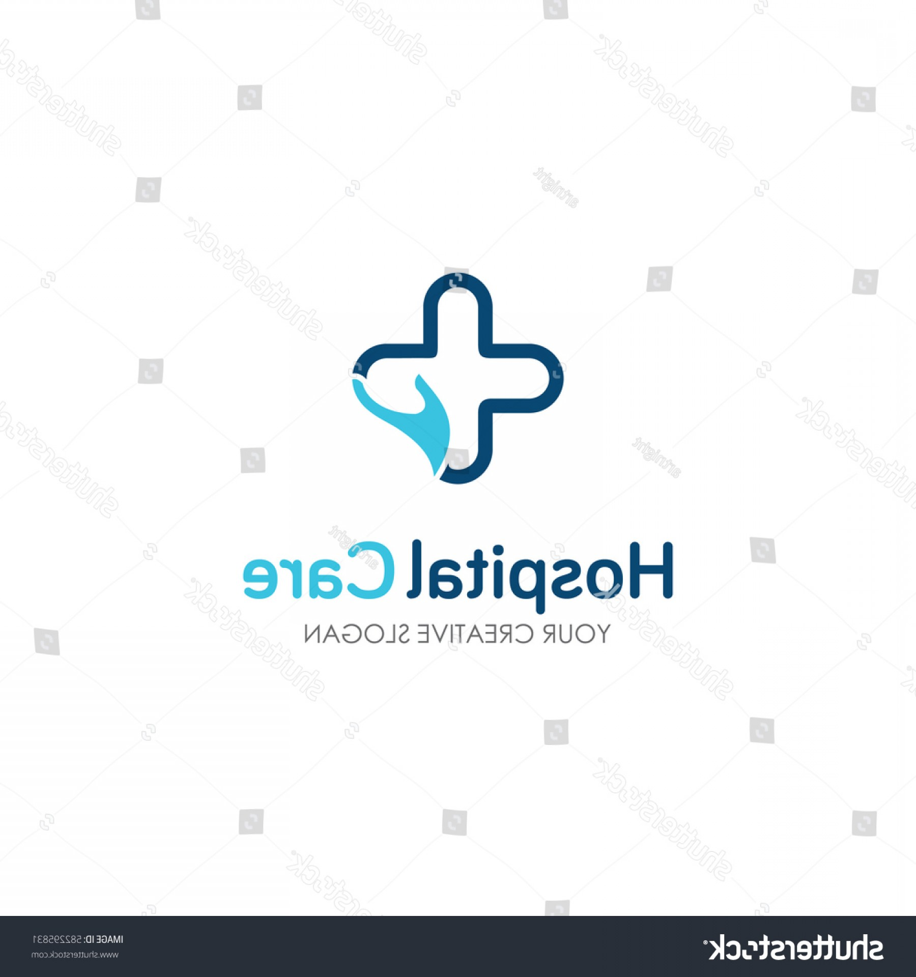 Health Vector Logo: Medical Healthcare Logo Design Template Vector