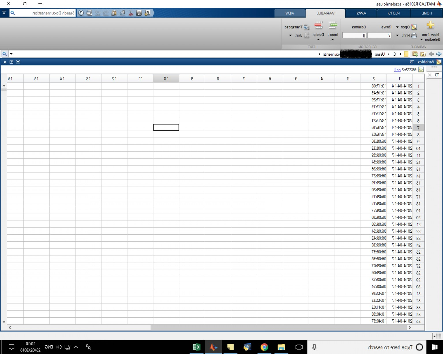 Combine Two Vectors MATLAB: Merge Two Columns Of A Cell Array Into One