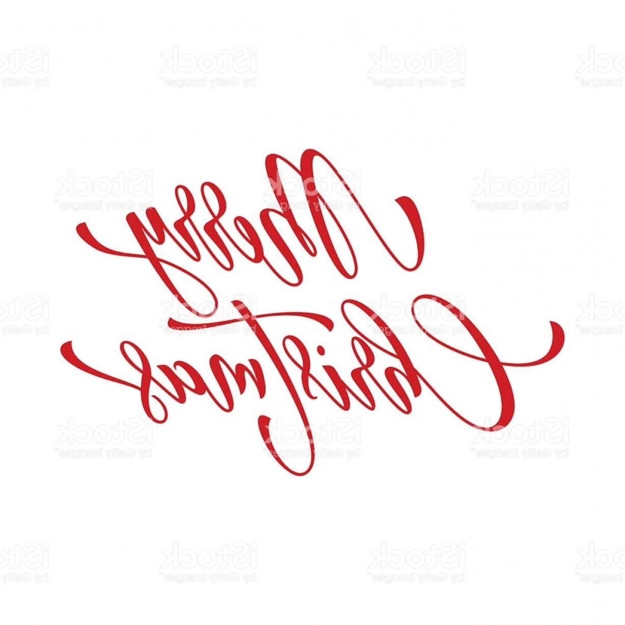 Merry Christmas Vector Graphic: Merry Christmas Vector Text Calligraphy Lettering Design Greeting Gm