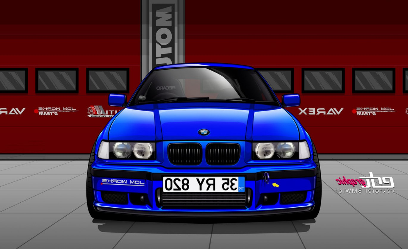 BMW F10 Vector Art: Mert Bilaloglu Bmw E Turbo Ry