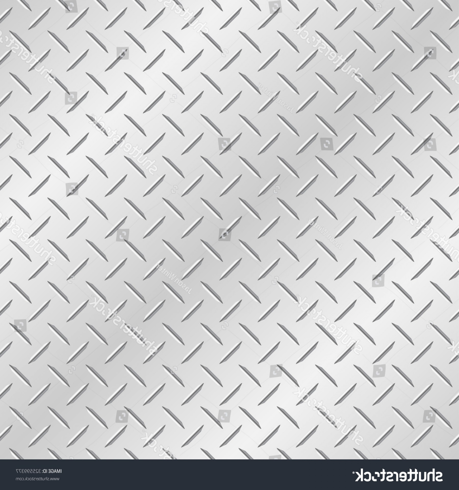 Diamond Plate Vector Pattern: Metal Diamond Plate Vector Wallpaper Background