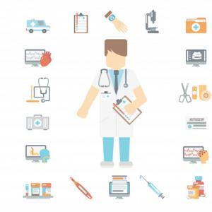 Medical Doctor Symbol Vector Freepik: Medical Pack Bundle For Patients Of Free Icons