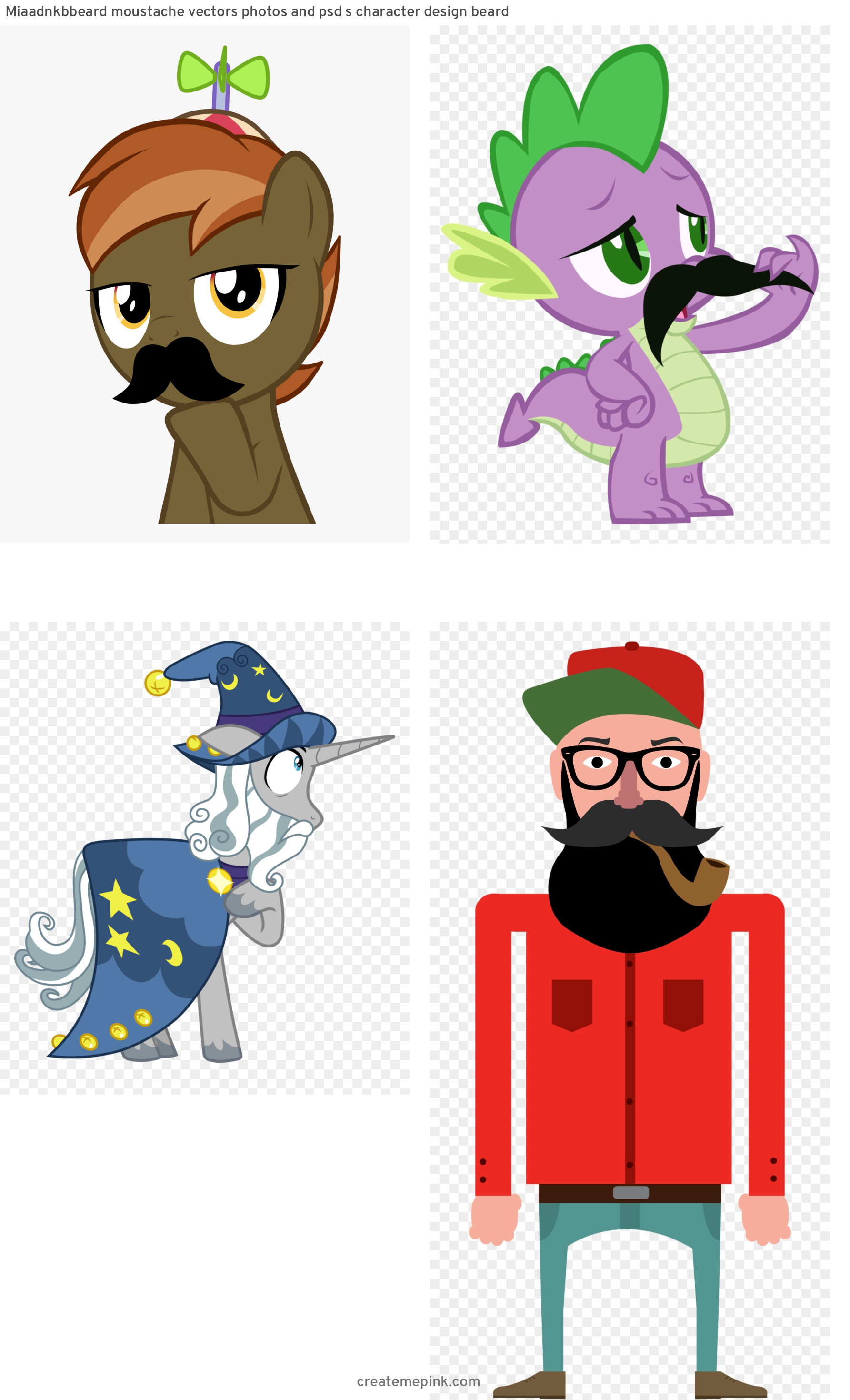 MLP Vector Mustache: Miaadnkbbeard Moustache Vectors Photos And Psd S Character Design Beard