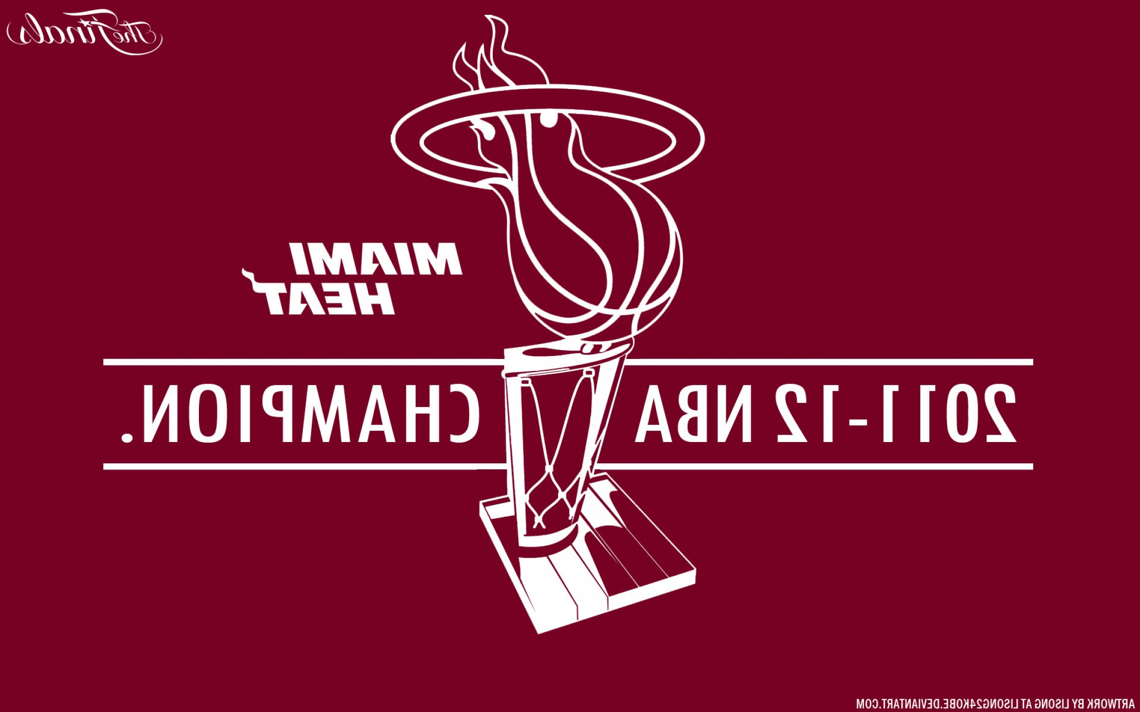 NBA Finals Logo Vector: Miami Heat Nba Champions X Vector Wallpaper