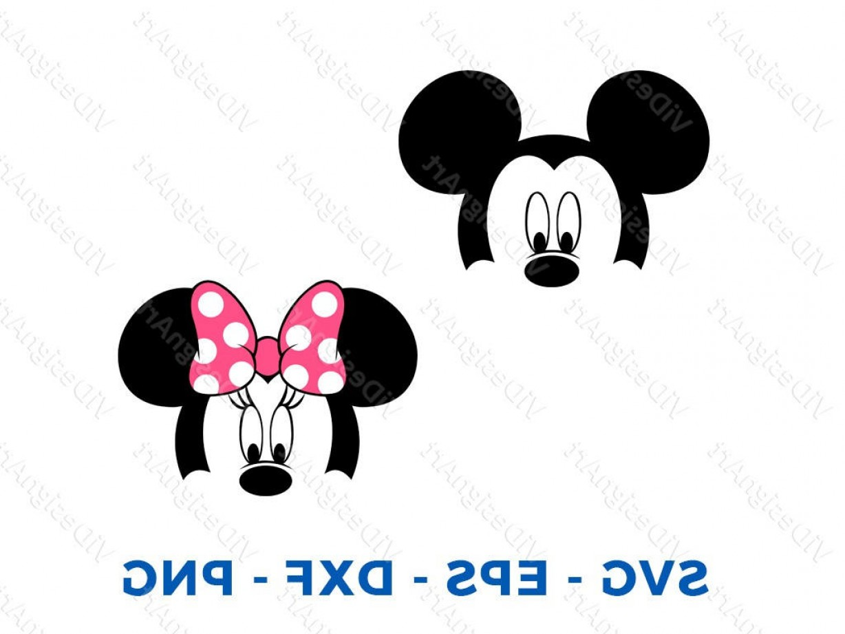 Minnie Mouse Party Hat Vector: Mickey Minnie Mouse Layered Head Face