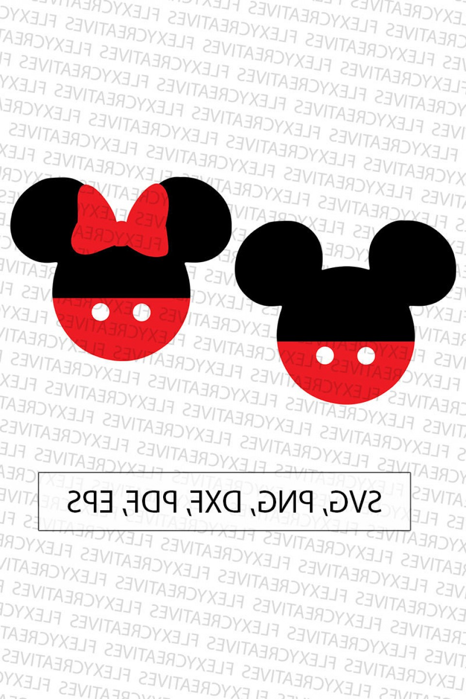 Minnie Mouse Vector Clip Art: Mickey Minnie Mouse Svg Mickey Mouse Svg