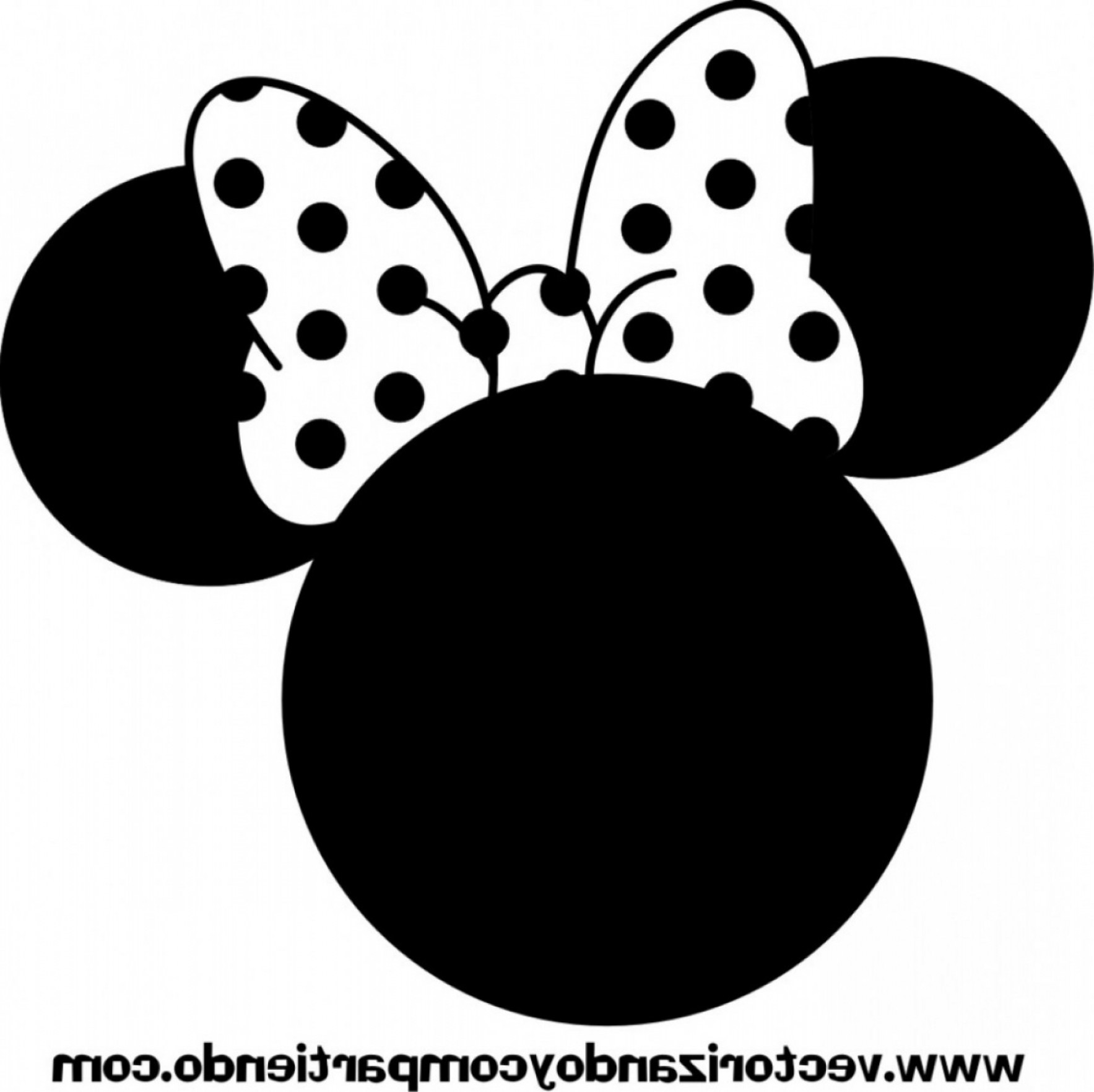 Minnie Mouse Head Vector: Mickey Monogram Svg Minnie Monogram Svg Minnie Mouse Svg Mickey